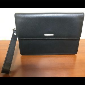 Givenchy Leather Gentleman Clutch- Made In Spain